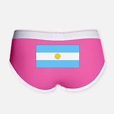 Argentina Blank Flag Women's Boy Brief