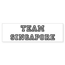 Team Singapore Bumper Bumper Sticker
