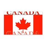 Canada Canadian Flag 22x14 Wall Peel