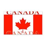 Canada Canadian Flag 22x14 Wall Peel