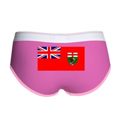 Manitoba Manitoban Blank Flag Women's Boy Brief