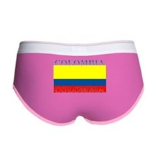 Colombia Colombian Flag Women's Boy Brief