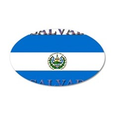 El Salvador 22x14 Oval Wall Peel