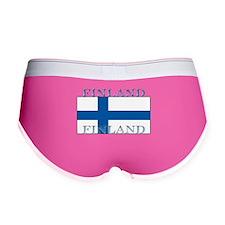 Finland Finish Flag Women's Boy Brief
