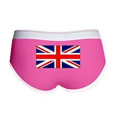 British Union Jack Flag Women's Boy Brief