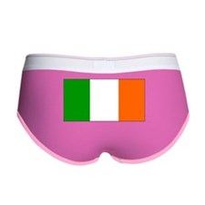 Ireland Irish Blank Flag Women's Boy Brief