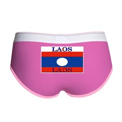 Laos Lao Flag Women's Boy Brief