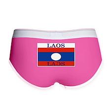 Laos Lao Flag Women's Boy Brief
