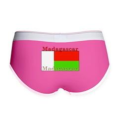 Madagascar Madagascan Flag Women's Boy Brief