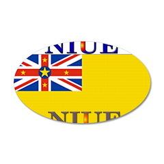 Niue 22x14 Oval Wall Peel