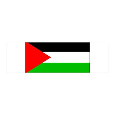 Palestinian Blank Flag 21x7 Wall Peel