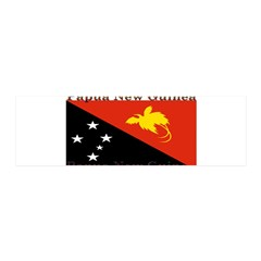 Papua New Guinea 21x7 Wall Peel