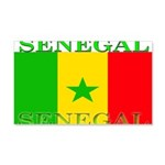 Senegal Senegalese Flag 22x14 Wall Peel