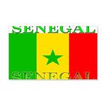 Senegal Senegalese Flag 22x14 Wall Peel