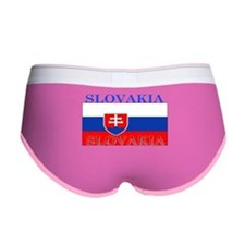 Slovakia Slovak Flag Women's Boy Brief