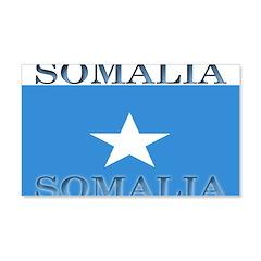 Somalia Somali Flag 22x14 Wall Peel