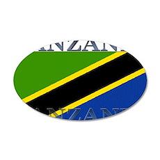 Tanzania 22x14 Oval Wall Peel