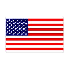 Old Glory US Flag 22x14 Wall Peel
