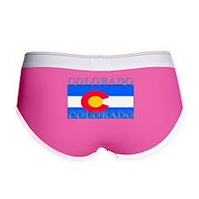 Colorado State Flag Women's Boy Brief