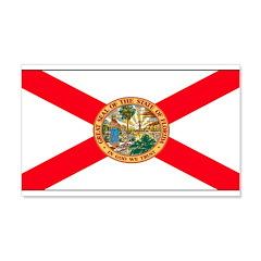Florida Sunshine State Flag 22x14 Wall Peel