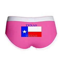 Texas Texan State Flag Women's Boy Brief