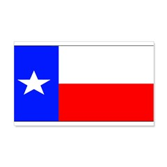 Texas Lone Star State Flag 22x14 Wall Peel