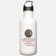 Seated Liberty Dollar -- Linc Water Bottle