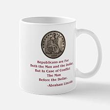 Seated Liberty Dollar -- Linc Mug