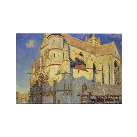 The Church at Moret, Frosty Weather, 1893, by Alfr