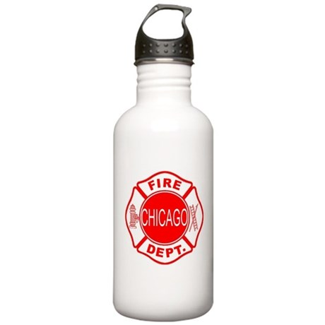 Chicago Firedepartment Stainless Water Bottle 1.0L