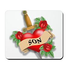 Son's Heart Mousepad