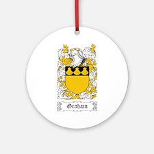 Graham Ornament (Round)
