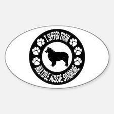 Australian Shepherd Dog Decal
