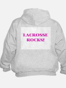 LACROSSE ROCKS HOODIE - Peace, Love & Lacrosse