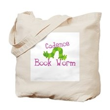 Cadence Personalized Library Book Tote Bag