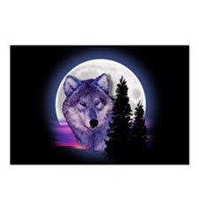 Moon Wolf Postcards (Package of 8)