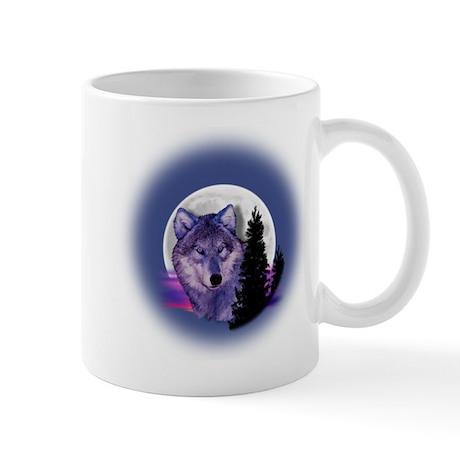 Moon Wolf Mug