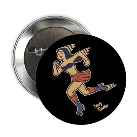 """Holy Roller 2.25"""" Button (100 pack)"""