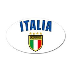 Italian Pride Wall Decal