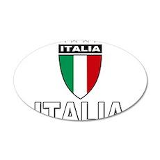 2010 World Cup Italia 22x14 Oval Wall Peel