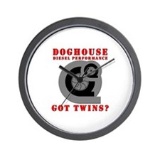 Doghouse Diesel Wall Clock