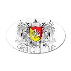 Sicilian Pride 22x14 Oval Wall Peel