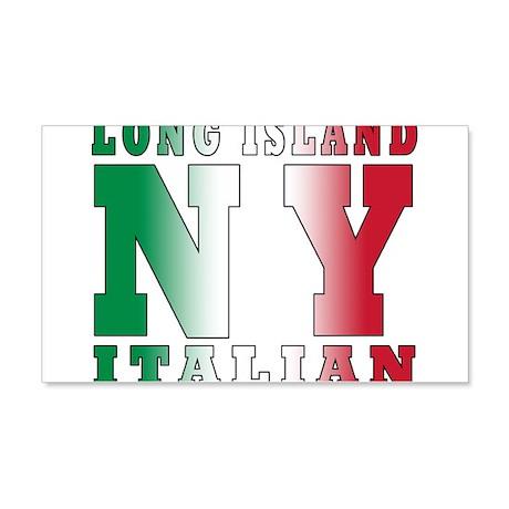 Long Island Italian 22x14 Wall Peel
