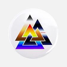 "3 Times The Pride 3.5"" Button"