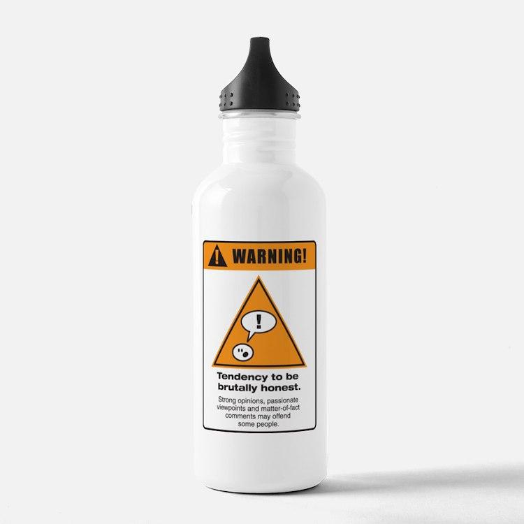 Brutally honest Water Bottle