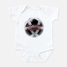 Give Blood, Play Soccer Infant Bodysuit