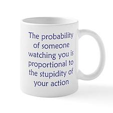 Proportional Stupidity Mug