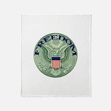 FREEDOM Eagle Throw Blanket