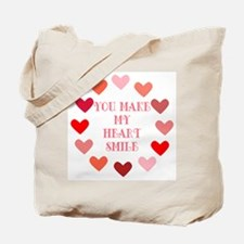 Heart Smile Tote Bag