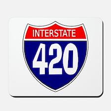 Interstate 420 Mousepad